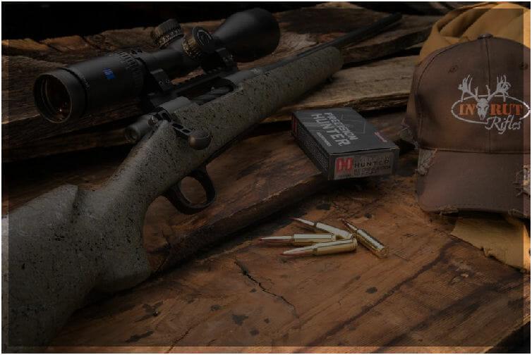 Full Curl Lightweight Hunting Rifle | Custom Long Range Hunting Rifle